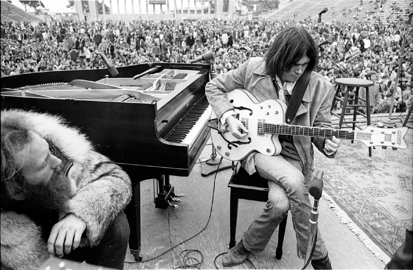 Neil Young, 1969, foto Henry Diltz