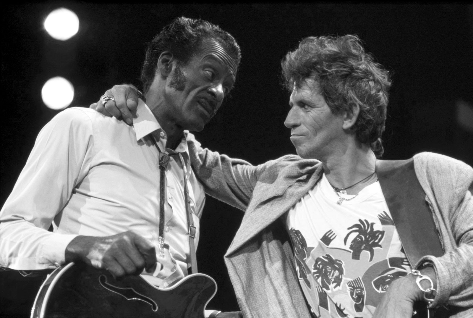 Chuck Berry & Keith Richards