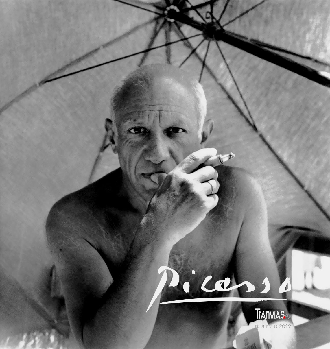 Pablo Picasso, 1947, foto Willy Maywald