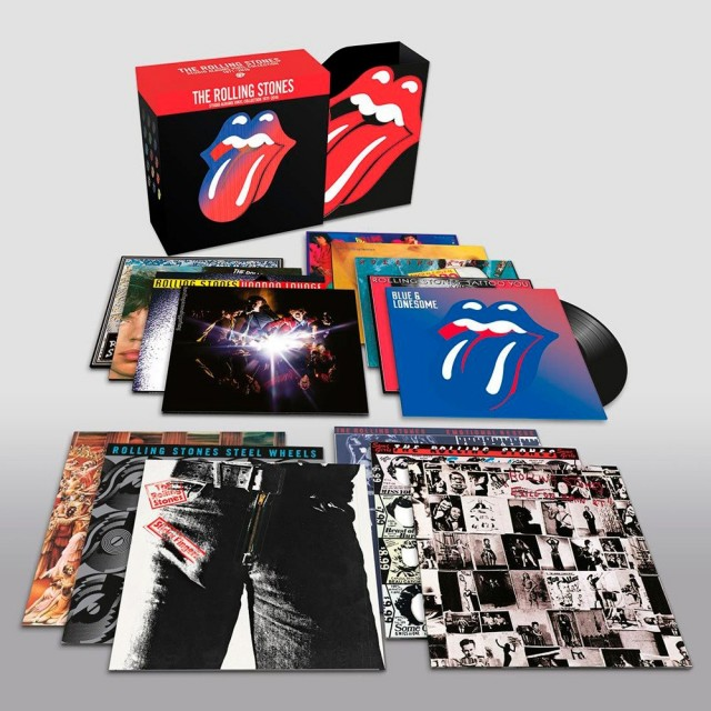 The Rolling Stones 15 lp en caja
